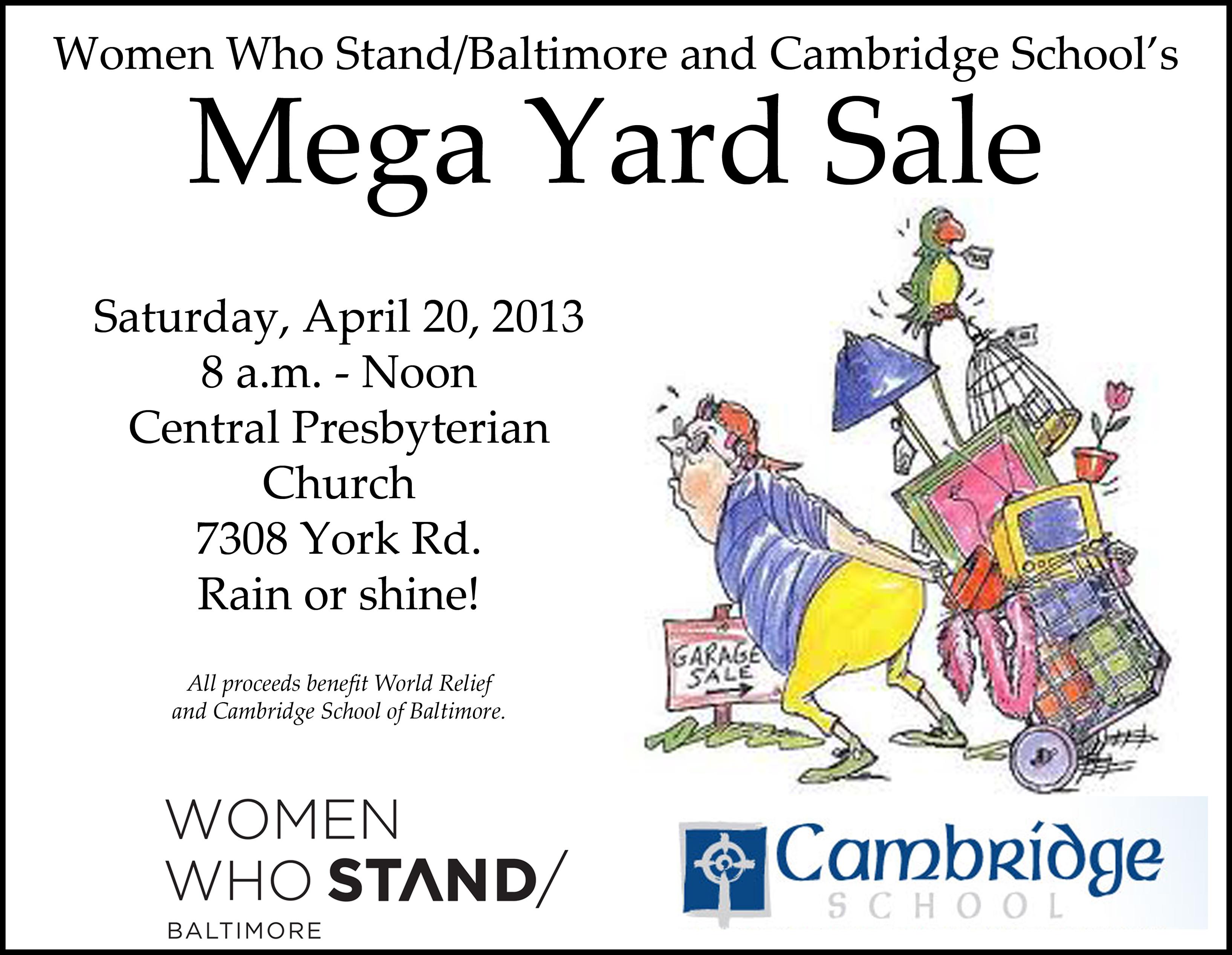 2013 yard sale
